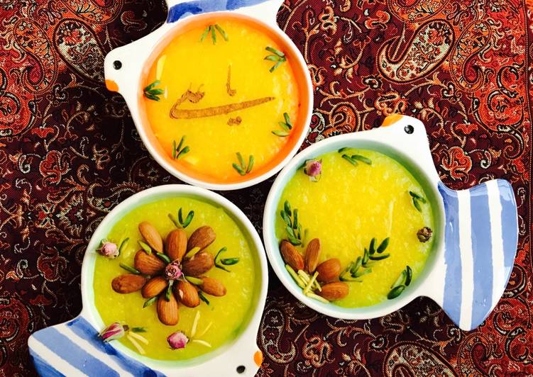 فواید و خواص شله زرد در طب سنتی ایرانی