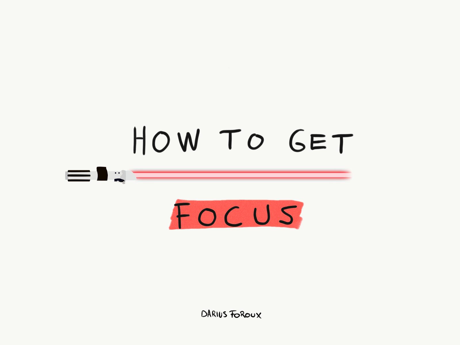 وقتی نمیتونم روی کارم تمرکز کنم چکار میکنم؟