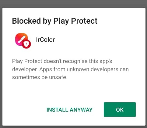 Blocked By Play Protect ...