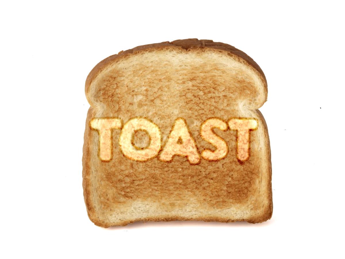 Toast ها ، جذاب تر از همیشه !