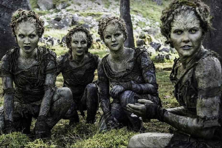 پری های جنگلی در سریال Game of Thrones