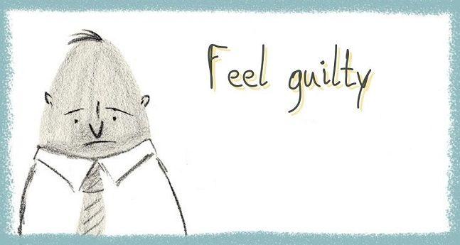 گاهی مواقع احساس گناه بهمون انگیزه میده بیشتر تلاش کنیم. اما در اهمال کاری باعث تشدید حس بدمون میشه