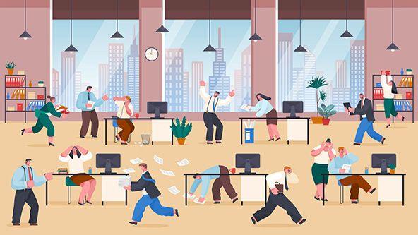 فرسودگی شغلی یک مشکل فردی نیست، بلکه یک مشکل مسری سازمانی است.
