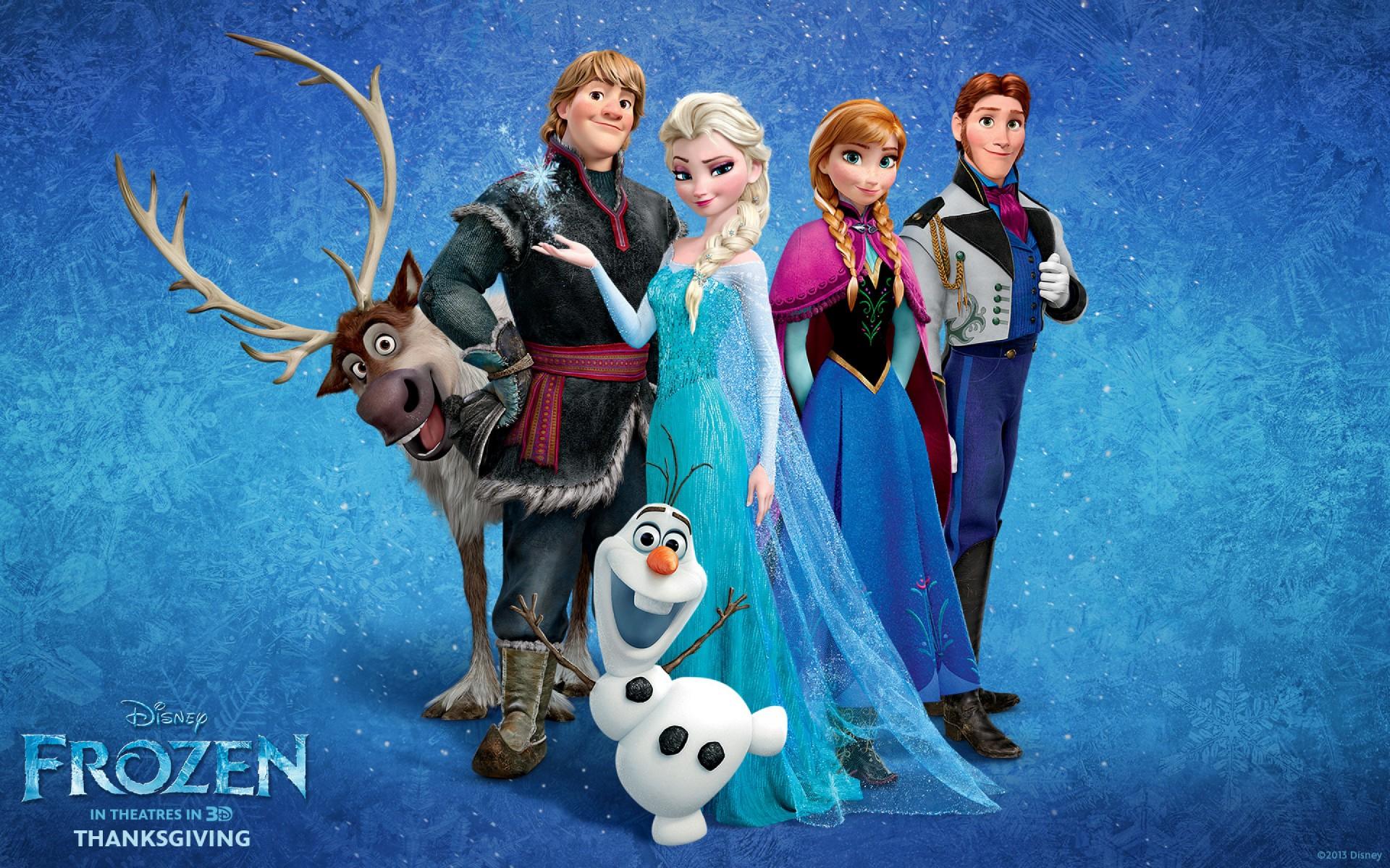 نقدی بر عِشق: انیمیشن منجمد (Frozen)