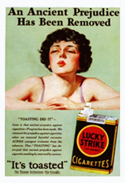 زنان بازار دست نخورده و بکر فروش سیگار بودند، ورود به این جامعه به معنای دستیابی به یک معدن طلای خالص بود