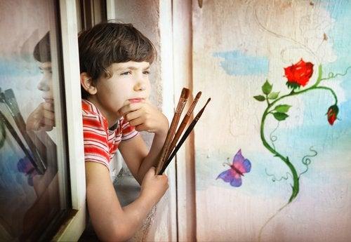میخواهم کودکی خلاق داشته باشم