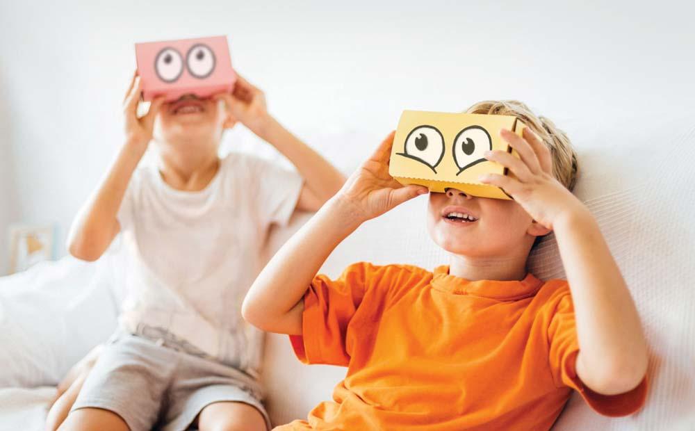آگاهی والدین از بازیهای واقعیت مجازی (کنترل والدینی (5 و 6))