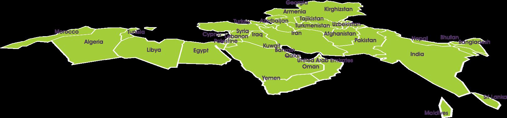 بررسی کشورهای منطقه گیمستان به روایت آمار