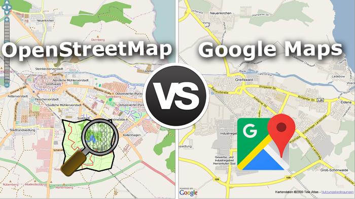 نقشه OpenStreetMap در مسیر بهتر شدن