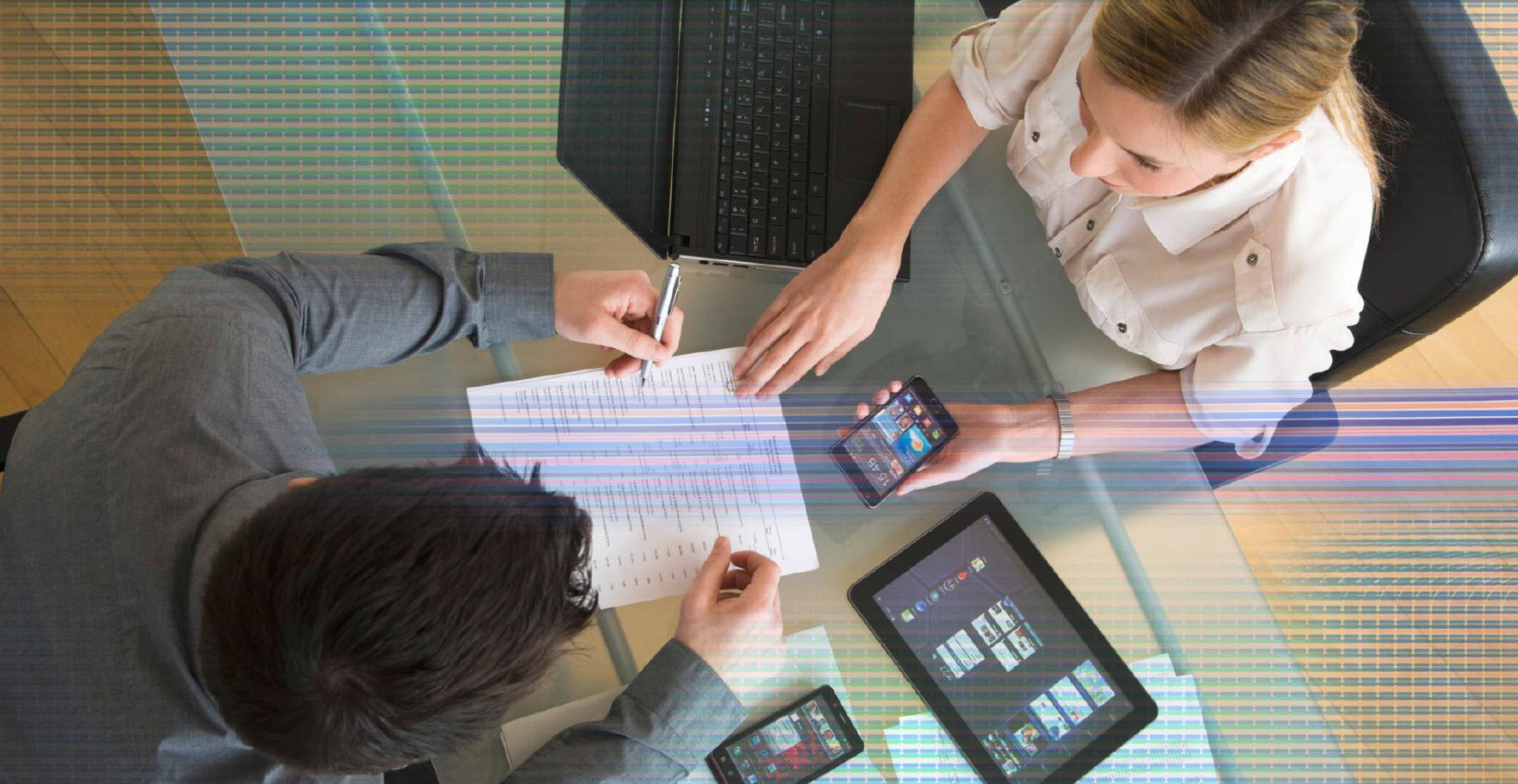 تحرک پذیری دستگاههای تلفن همراه در شرکتها