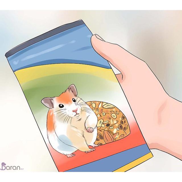 تغذیه مناسب همستر