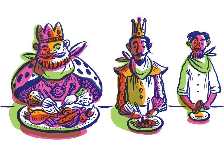 صبحانه را مانند یک پادشاه، ناهار مثل یک شاهزاده و شام مثل یک گدا بخورید