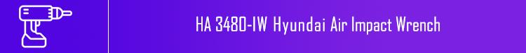 3480 Hyundai Air Impact Wrench | خرید بکس بادی هیوندای مدل 3480