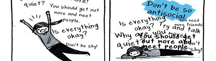 مشکل غیر اجتماعی بودن (#کمک)