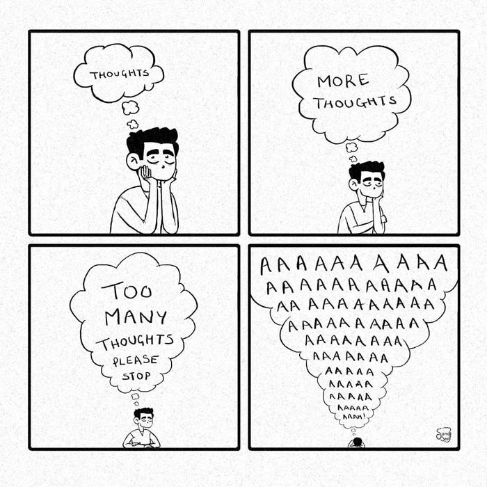 فکر کردن-بیشتر فکر کردن-خیلی فکر کردن (لطفا متوقف شید)- آ آ آ آ