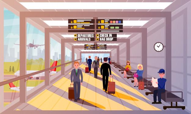 عبارتهای پرتکرار انگلیسی در سفر - فرودگاه