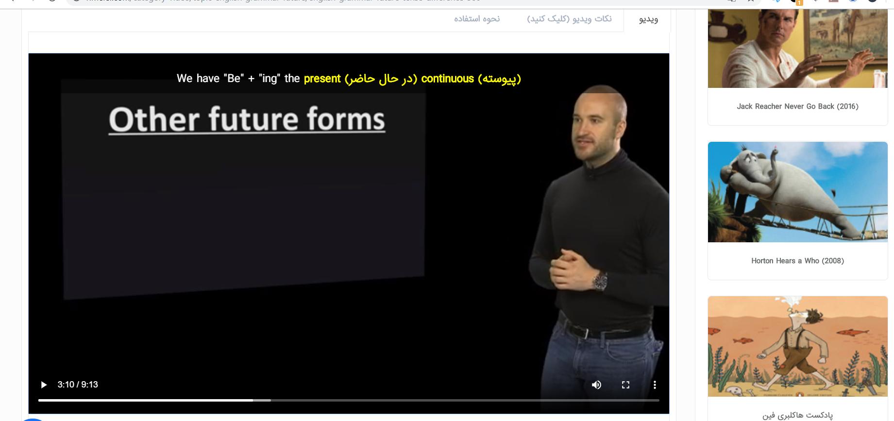 زمان آینده در زبان انگلیسی