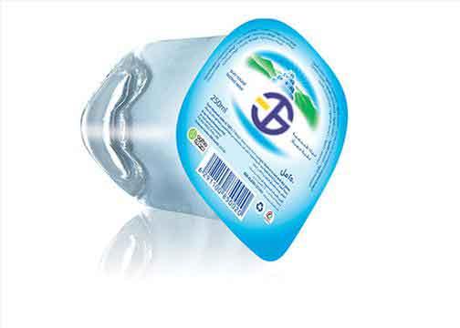 نمونه بسته بندی آب معدنی با دستگاه ساخته شده توسط شرکت طرسام