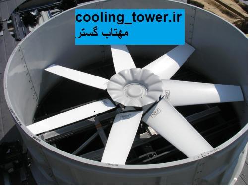 بررسی کمی و کیفی انواع فن محوری در برج خنک کننده