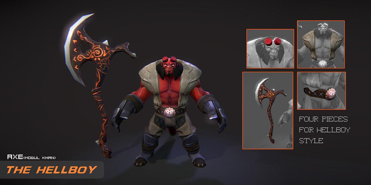 ظاهر متفاوت یک قهرمان بازی برای فروش