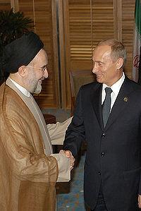 پوتین سفرهای متعددی به ایران داشت