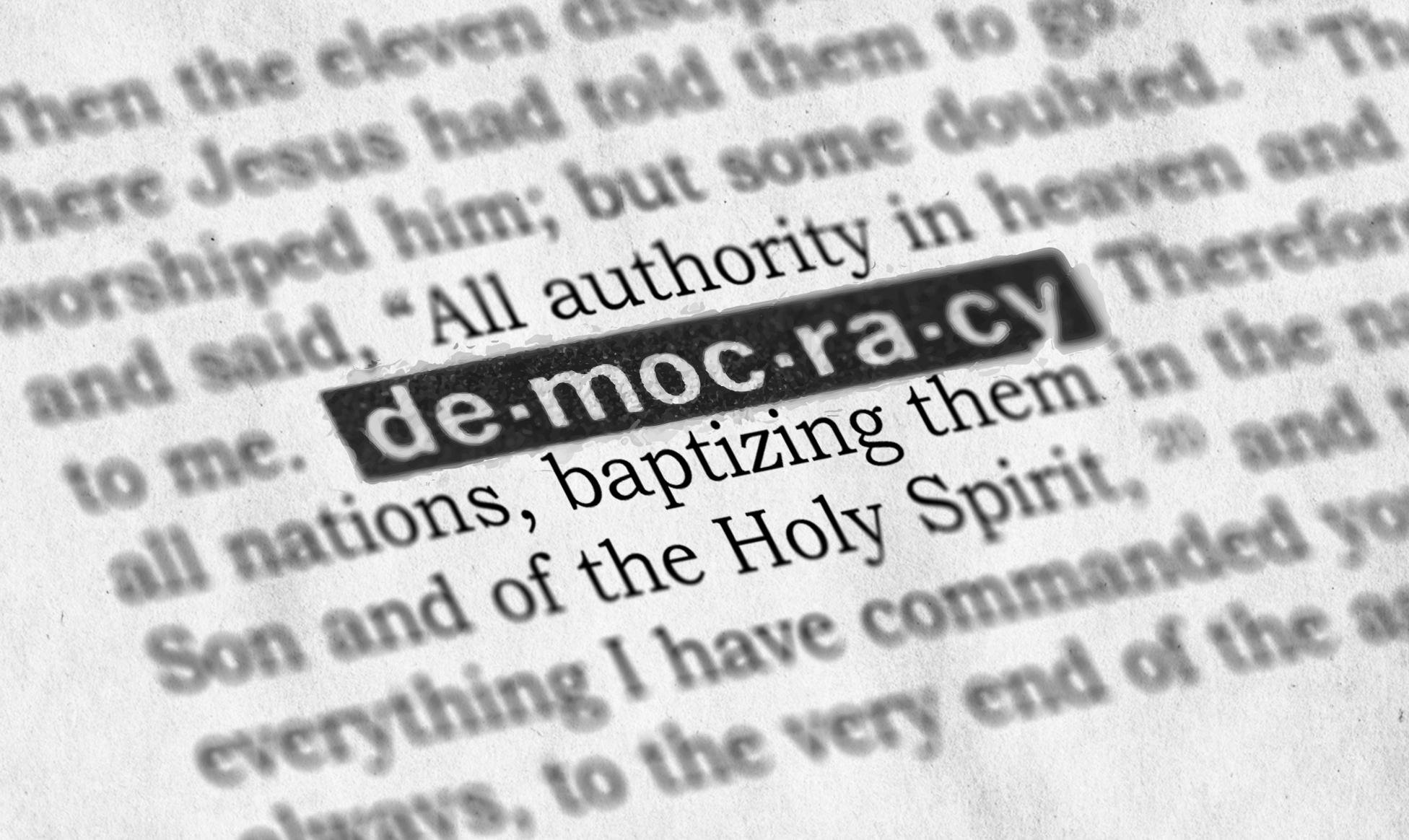 لیبرال دموکراسی!