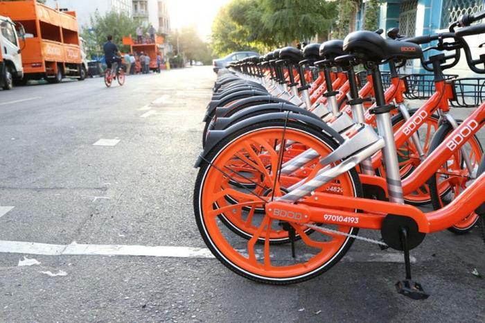 اولین تجربه استفادم از دوچرخه های بیدود