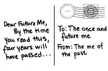 برای آینده خود نامه پست کنیم