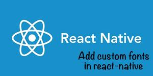 لینک به فولدر Font در react native > 0.60