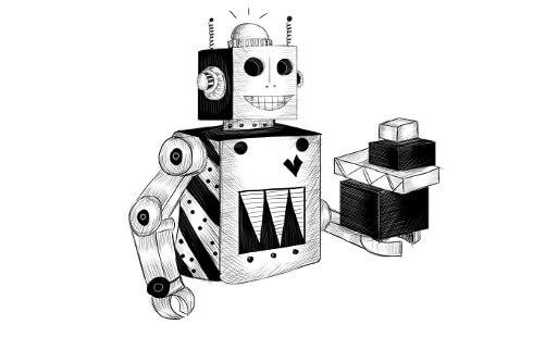 جاوااسکریپت شیوا، فصل هفتم:  پروژهی ساخت یک ربات