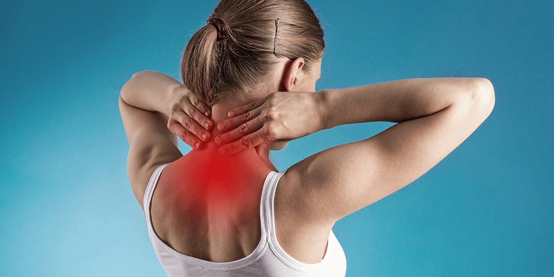 درد گردن ناشی از بیماری دیسک