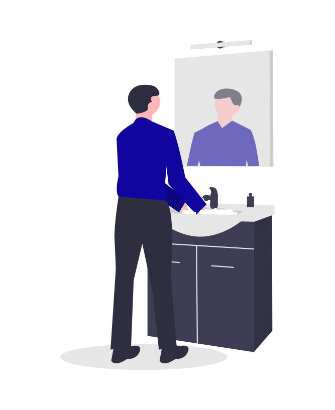 این عکس ربطی به دستشویی مردانه نداره. تصاویرش به میزان کافی تو گوگل هست. صرفا خواستم یادآور شم که تو این دوران کرونا و بعدا، پسا کرونا، دستمون رو زیاد بشوریم :)