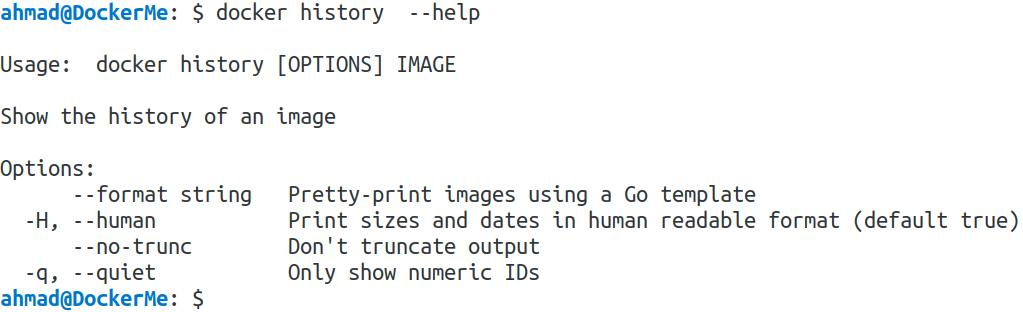توضیح دستورات داکر – این قسمت docker history, login, logout, logs, port, diff