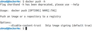 توضیح دستورات داکر – این قسمت docker push, start, stop, version, pause, top