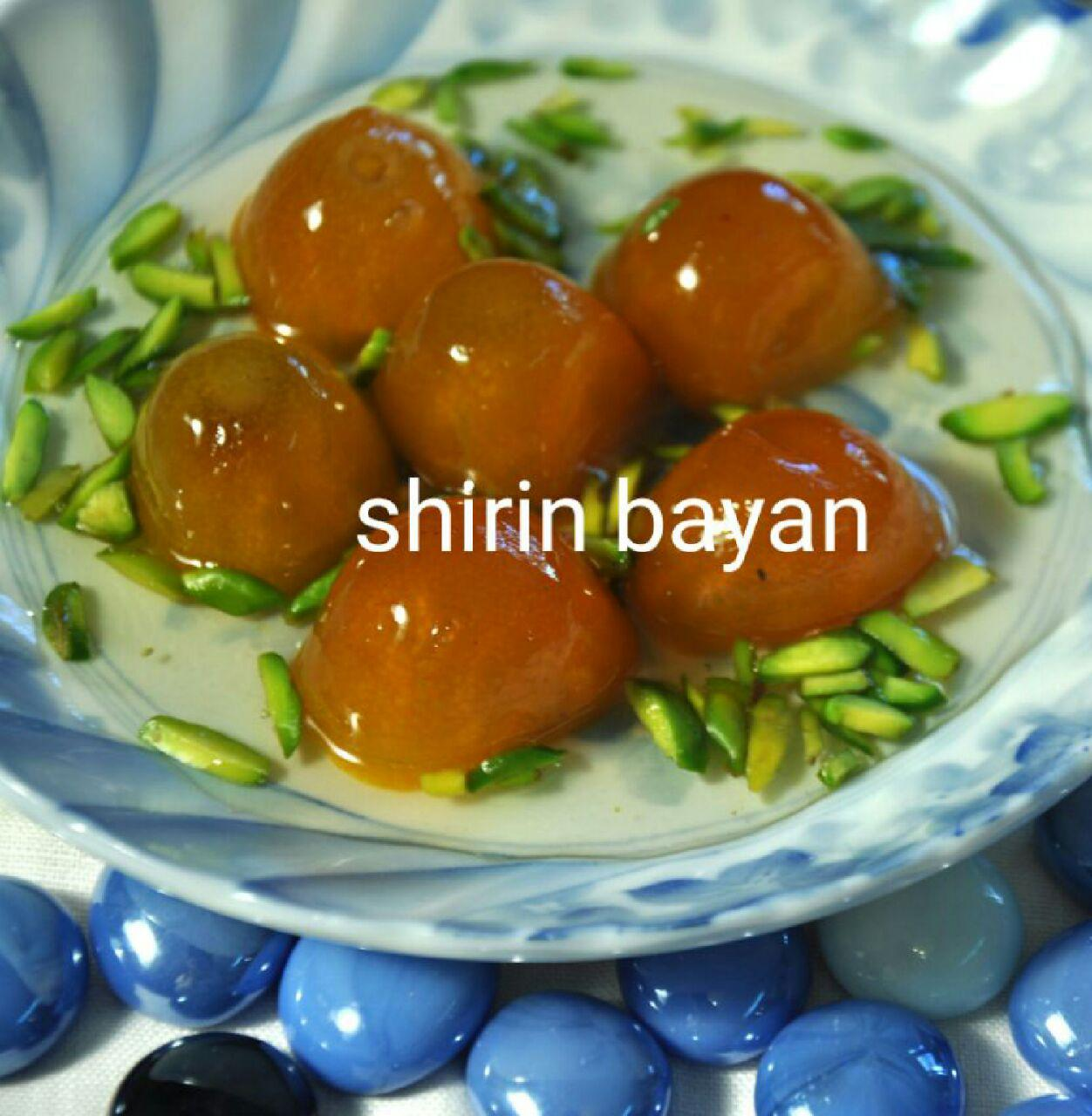 مربای کام کوات یا پرتقال تزئینی