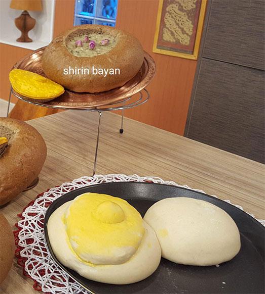 آموزش نان کاسه ی سوپ