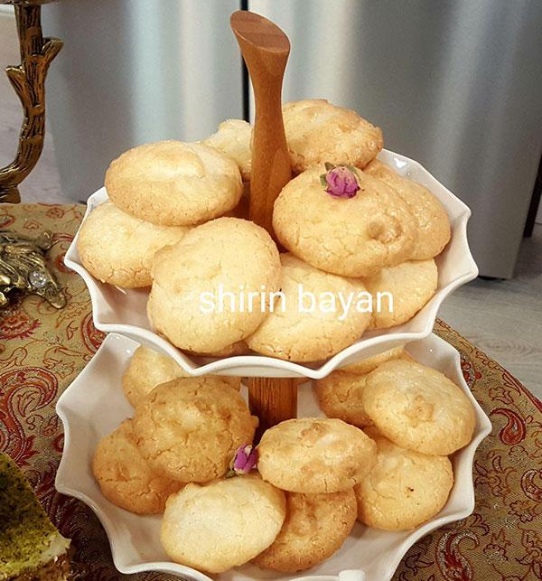 آموزش شیرینی پزی - شیرینی نارگیلی