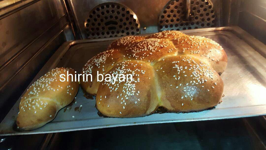 آموزش شیرینی پزی - نان شیرمال