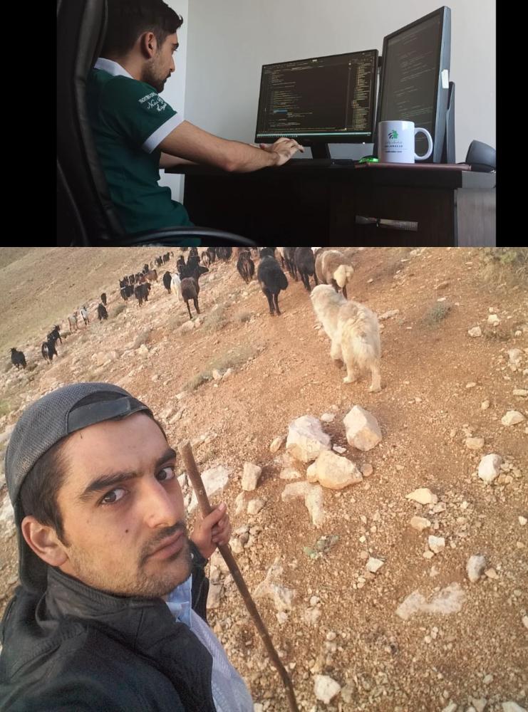 حامد، چوپانی از روستای وفس که در عرض چند سال وارد یک تیم برنامهنویسی حرفهای شد.  برنامه نویسی وَفْس: روستایی که ما را به جهان وصل کرد ujicchbwu9vp