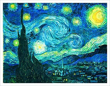 شب پر ستاره اثر ونگوگ: خوب تا جایی که میدونیم هیچ شبی مثل این نیست!
