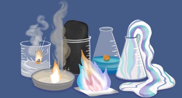 ۷ آزمایش جالب در شیمی برای همه