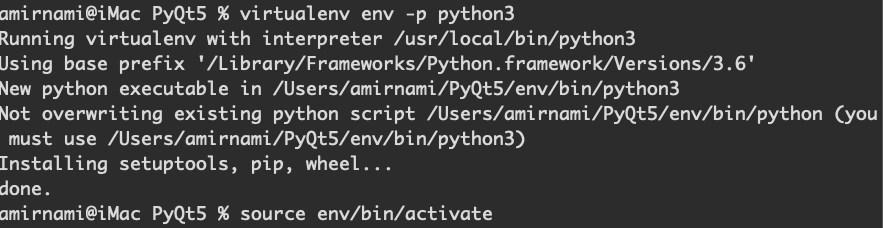 نصب PyQt5 به همراه Qt Designer