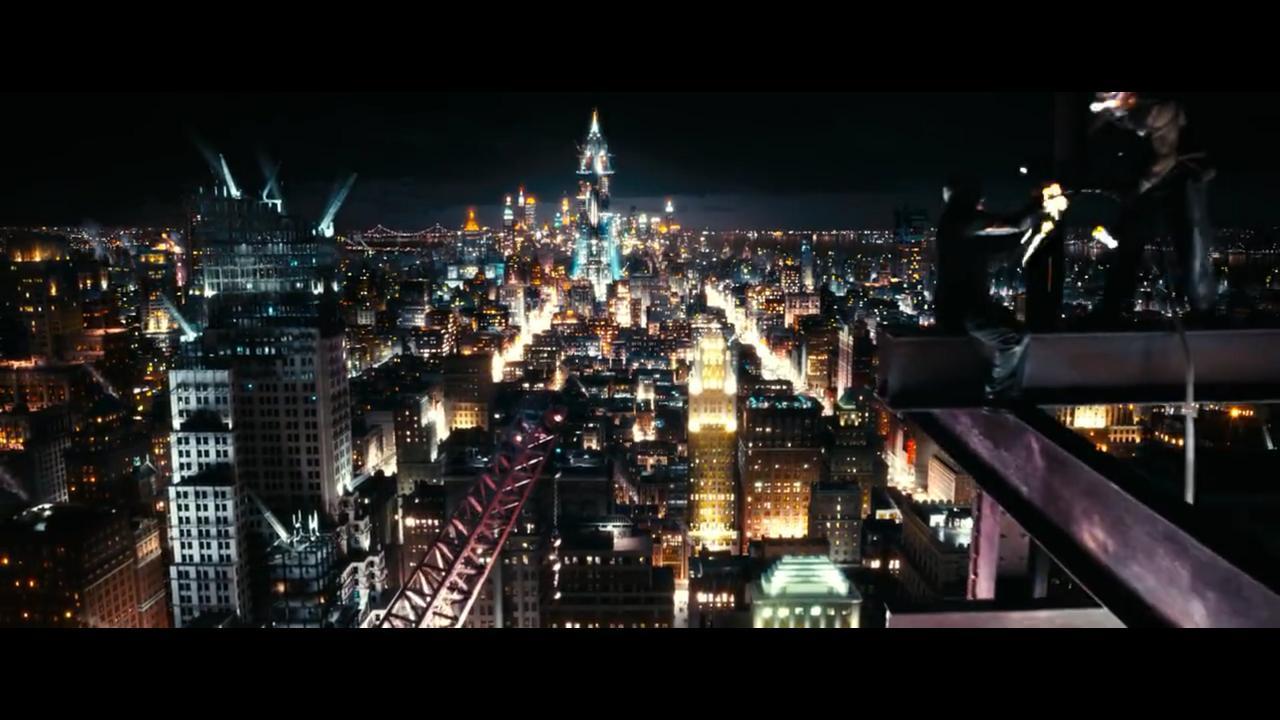 نمونهای از تصاویر نیمه ابتدایی فیلم از نیویورک، وقتی شهر میدرخشد.