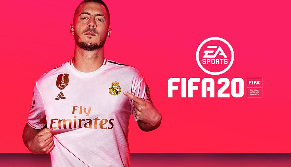 Eden Hazard in FIFA 20