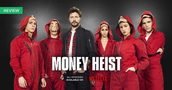 معرفی و بررسی سریال پرطرفدار Money Heist (خانه کاغذی)