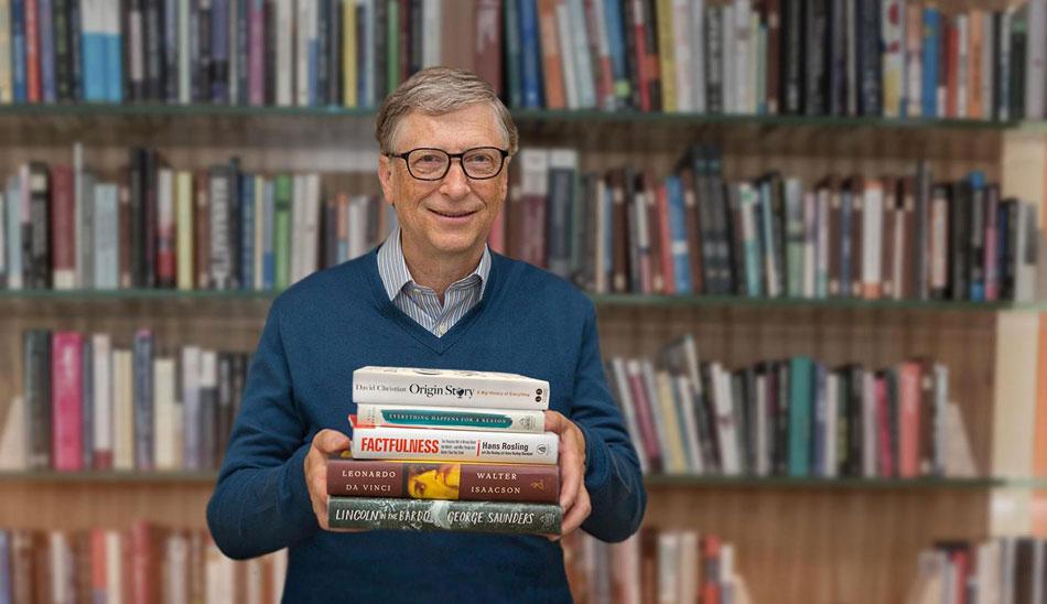 معرفی کتاب های بیل گیتس و لیست کتاب های پیشنهادی او
