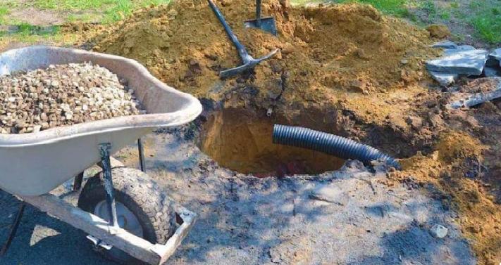 علت های پر شدن چاه فاضلاب