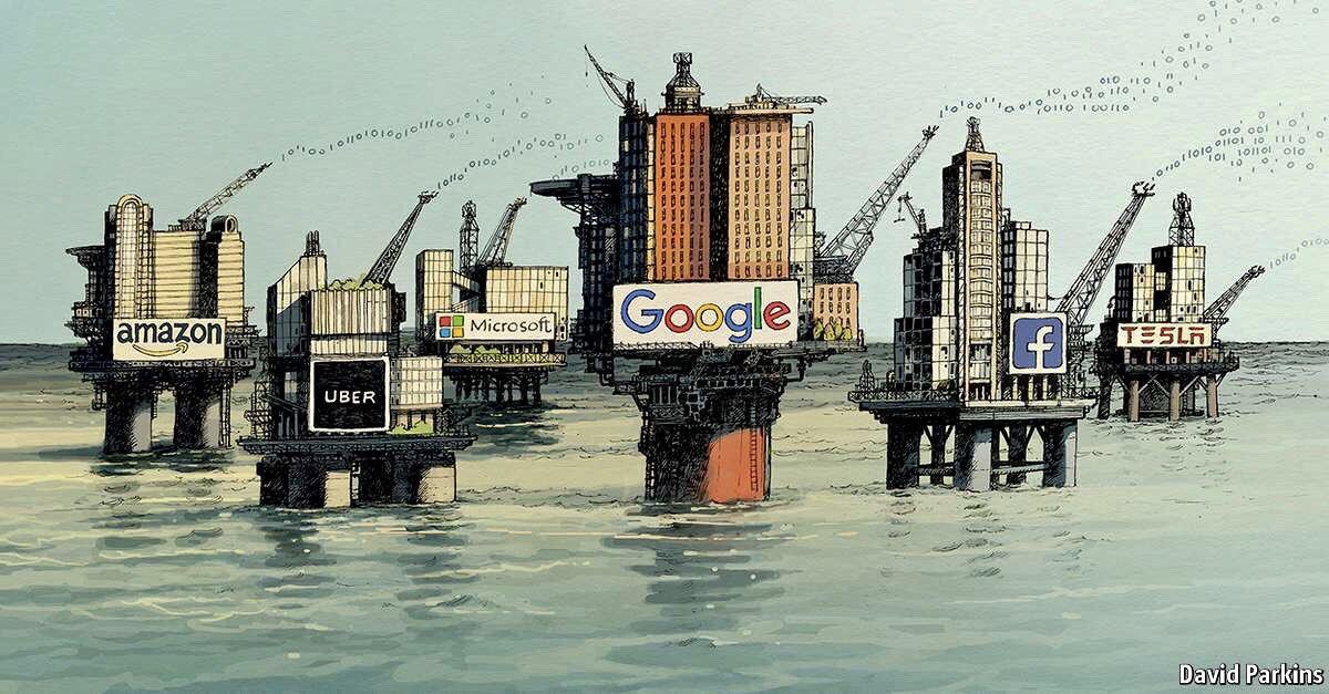 """آیا """"داده ها"""" نفت بعدی هستند؟ Is data the new oil"""