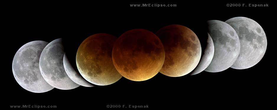 ماه گرفتگی در راه است