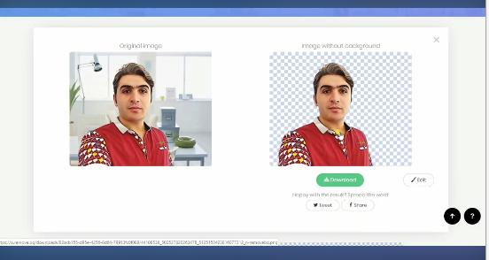 تو دو ثانیه پروفایل حرفه ای تو باهوش مصنوعی بساز